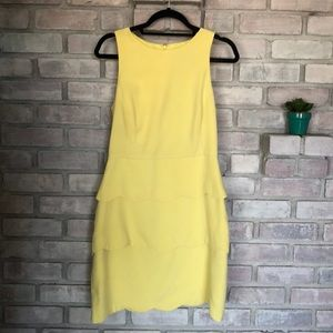 Fun yellow dress Badgley Mischka 💛